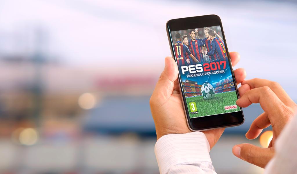 PES 2017 llegará a iOS y Android