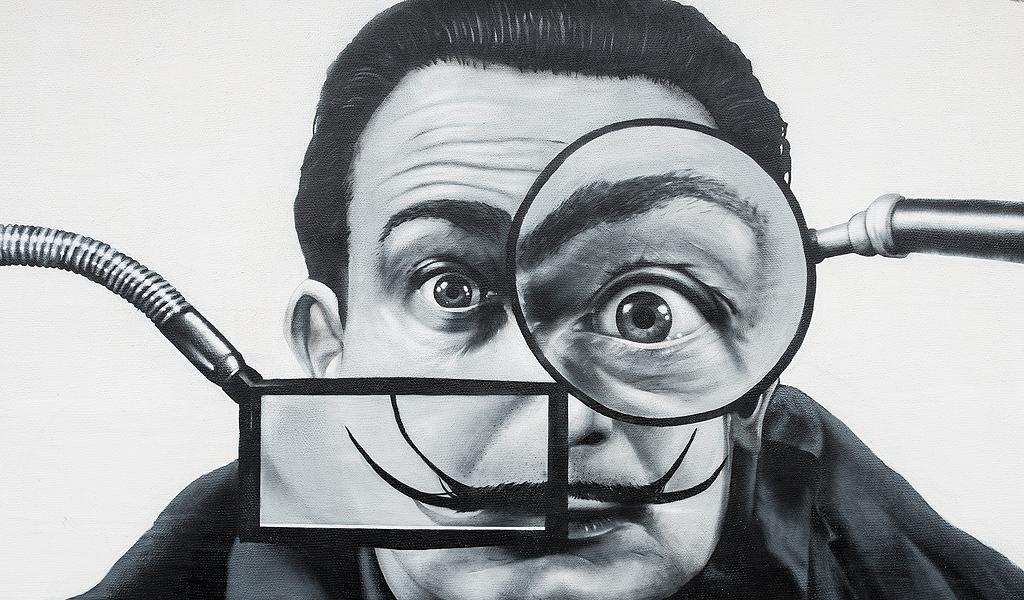 La surrealista vida de Salvador Dalí