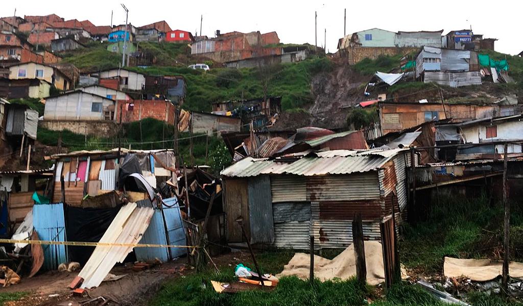 Deslizamiento en Soacha deja tres muertos