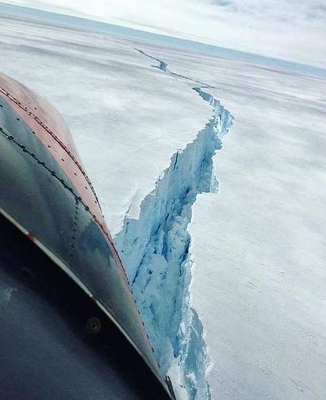 El extraño fenómeno que se está presentando en la Antártida