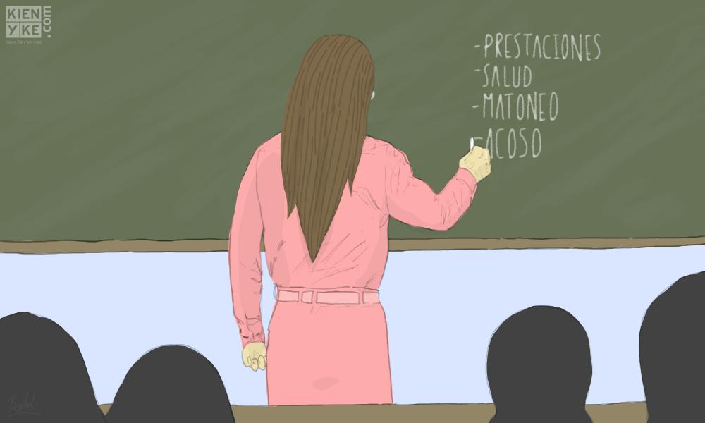 maestros paro