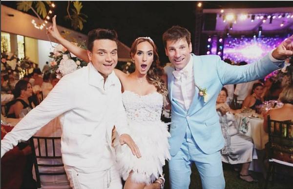 La presentadora Laura Benavides se casó con un exparticipante del Desafío