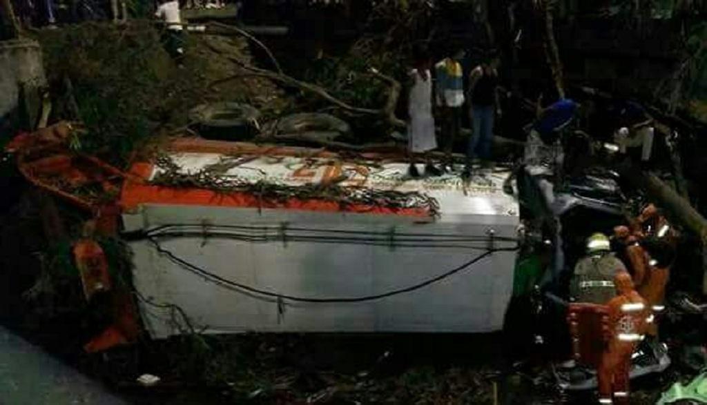 Camión sin frenos arrolla a siete personas en Yumbo