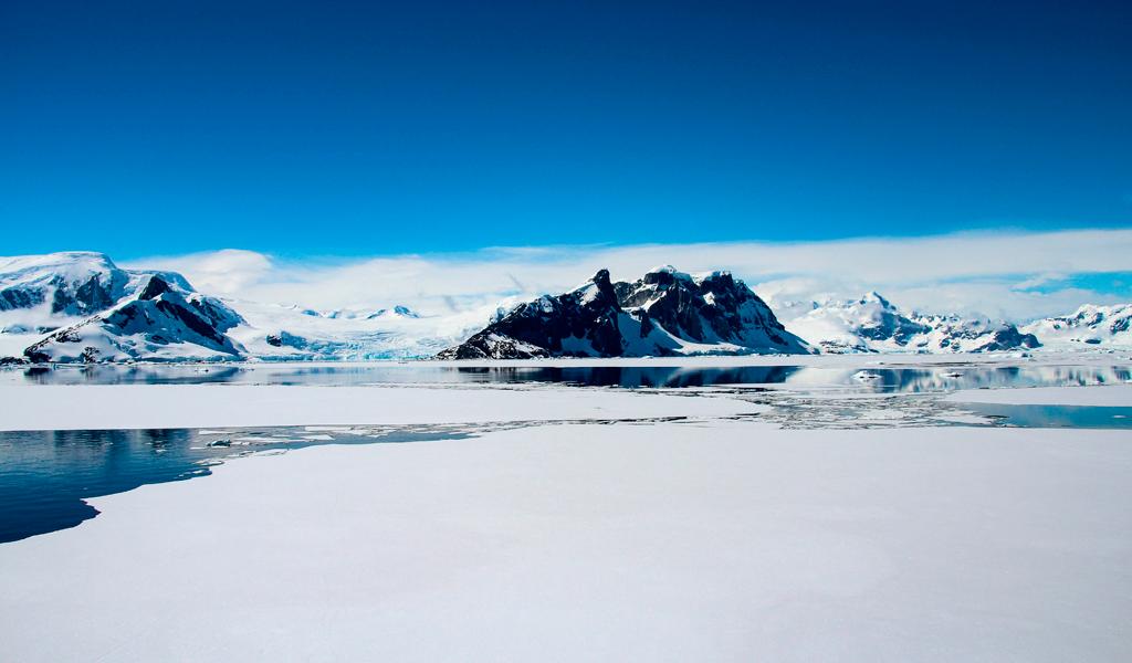 El iceberg que está punto de desprenderse en la Antártida