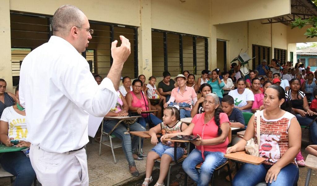 Antioquia hace presencia en Belén de Bajirá