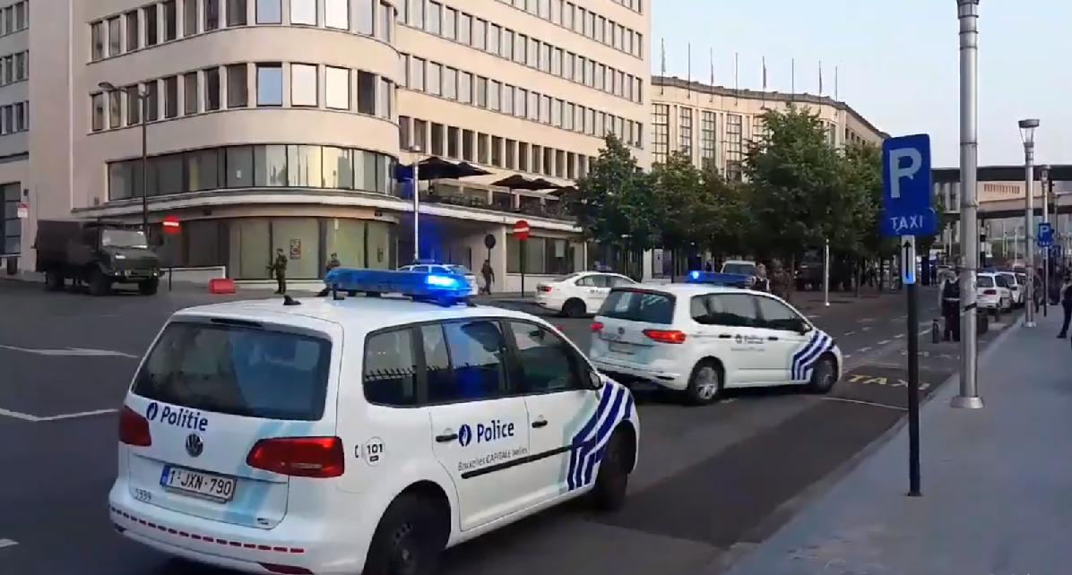 Explosión en estación de trenes de Bruselas