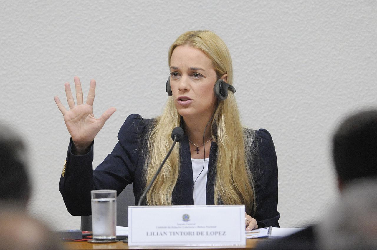 """No hubo negociación para que Leopoldo esté en su casa"", Tintori"