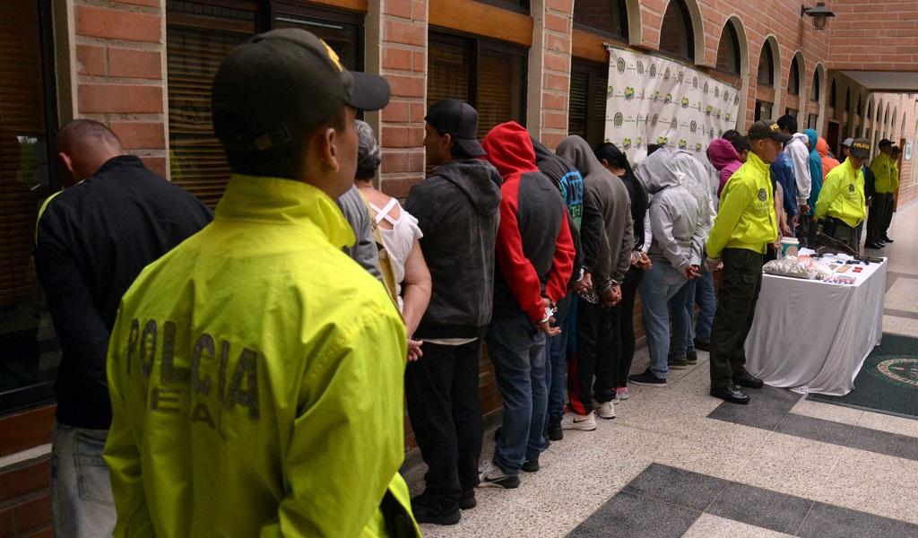 Capturan a 37 miembros de la banda 'La Unión' en Itagüí