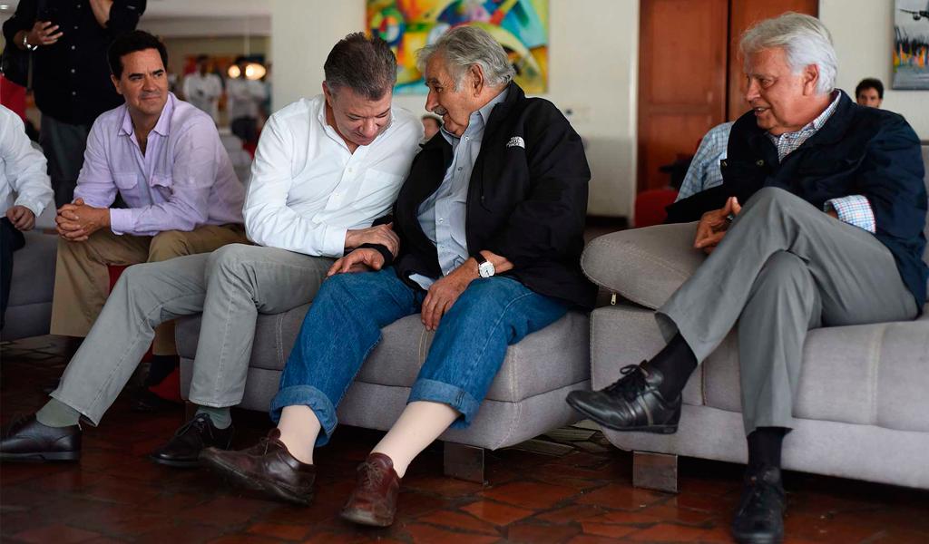 Pepe Mujica pide avalar nueva entrega de armas de las Farc