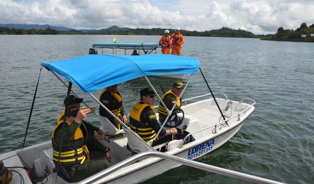 Rescatan octava víctima del naufragio en Guatapé