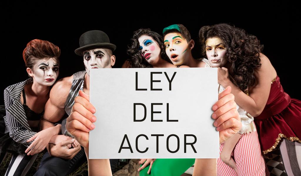 La Ley del Actor sigue en firme