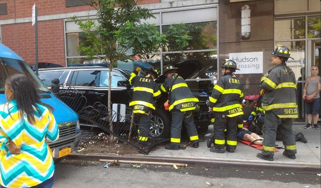 Un vehículo atropella a 10 personas en Manhattan