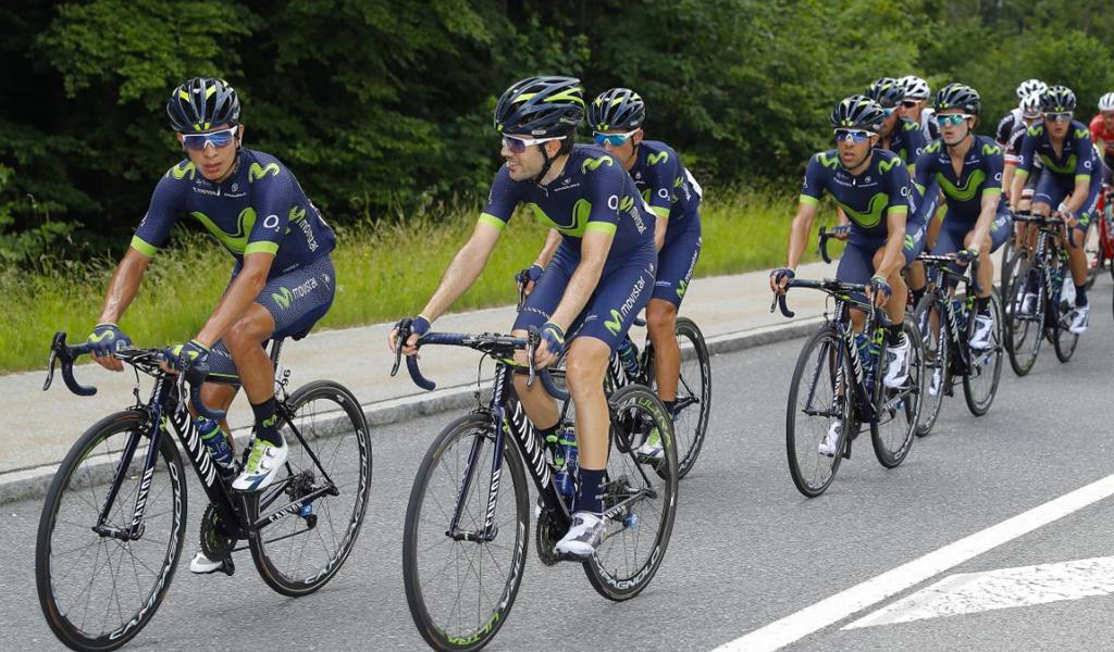 Tour de Francia Movistar Team-ciclismo Nairo Quintana Tour de Francia