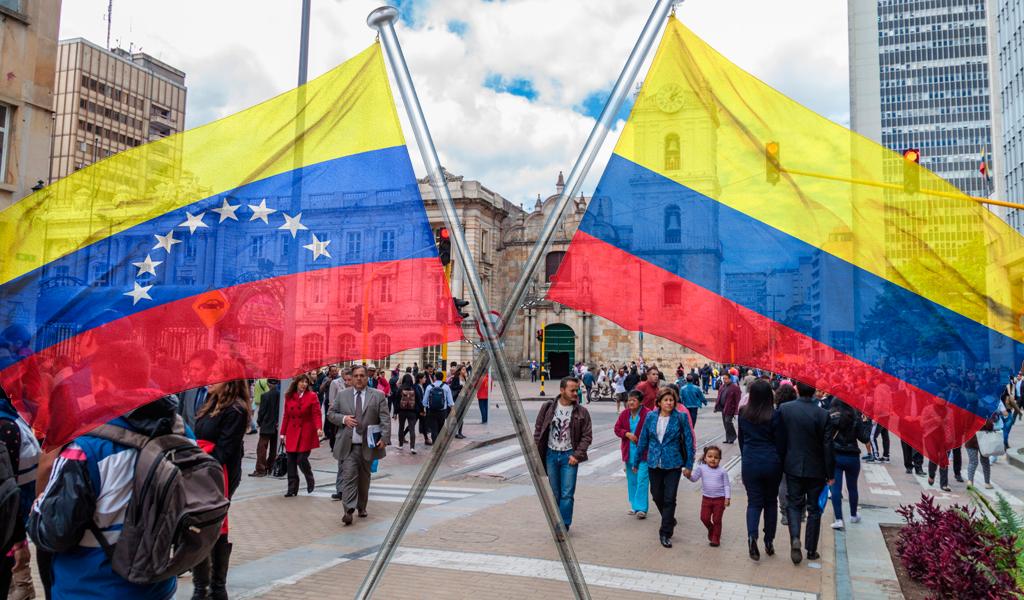 Facilitan registro de hijos venezolanos de padres colombianos