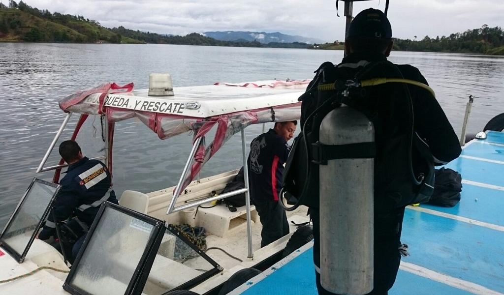 No hay más cuerpos en el barco que naufragó en Guatapé