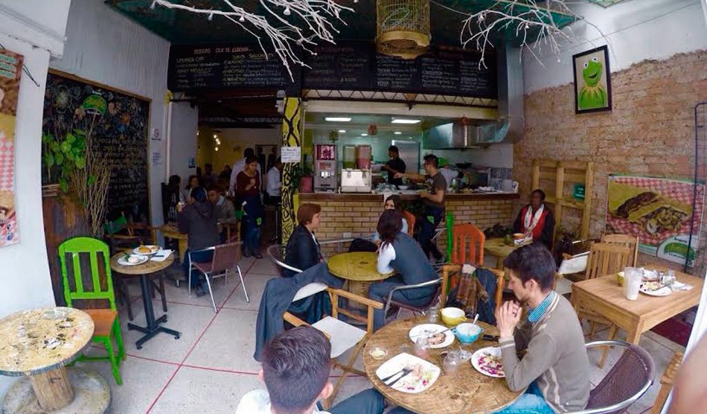 El restaurante amigable con el medio ambiente en Bogotá