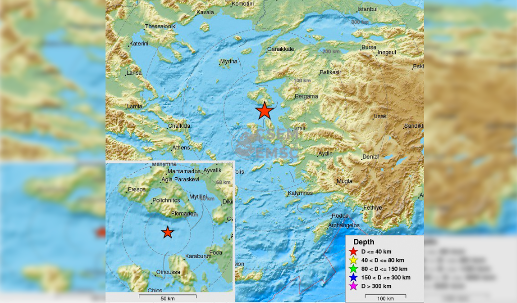 Turquía y Grecia afectados por terremoto de intensidad