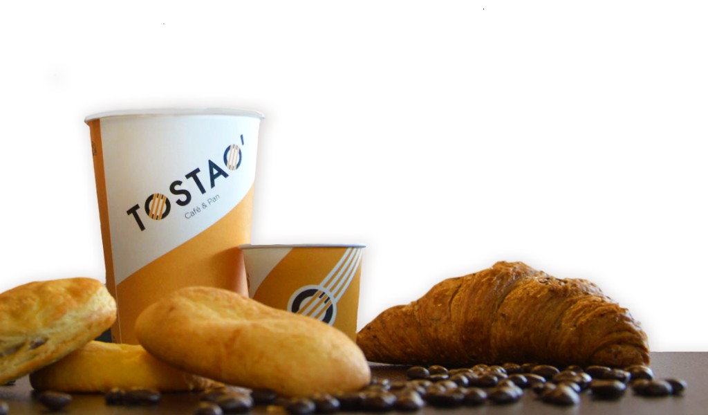 Ellos son los dueños de Tostao' Café y Pan