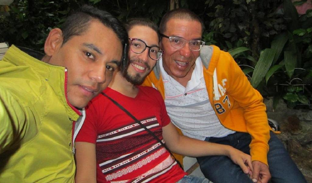 Tres hombres se casan en Medellín