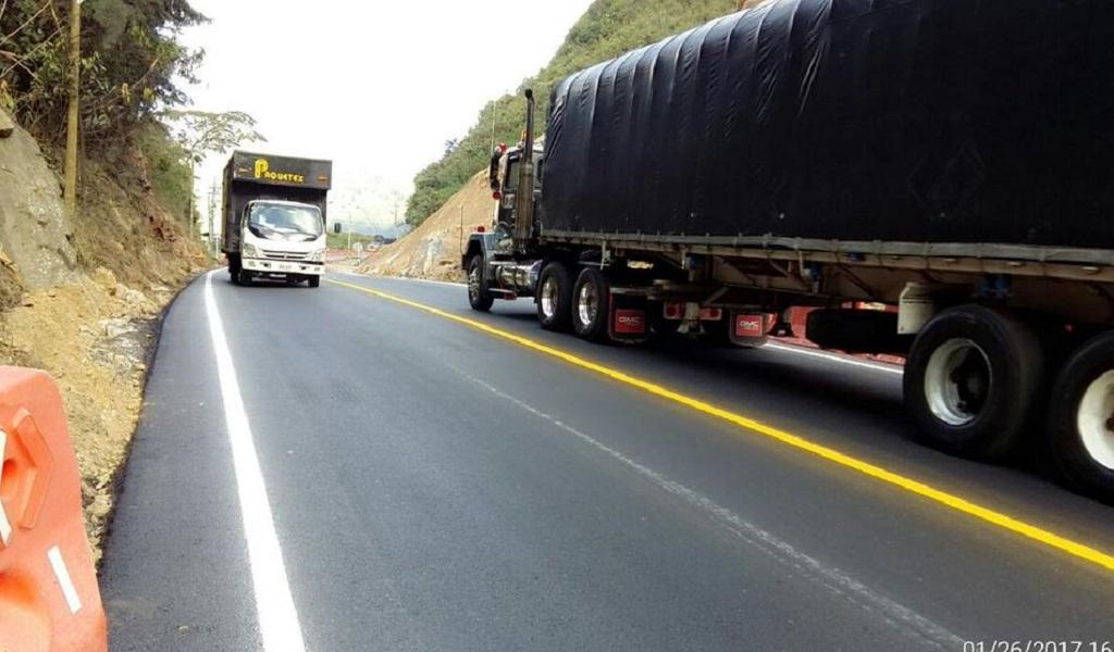 Inician obras de nueva calzada en la vía Medellín – Bogotá
