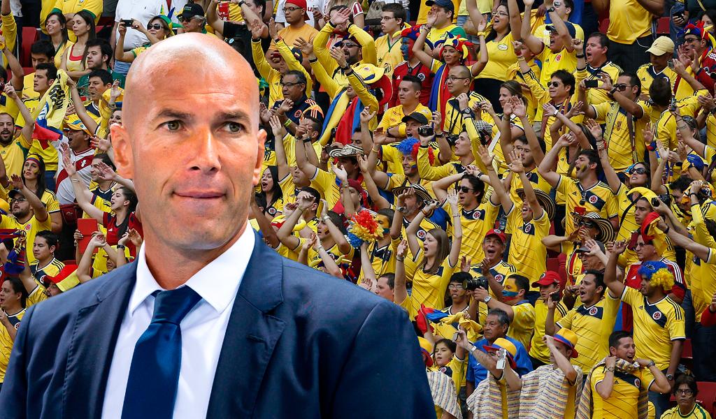 Zinedine Zidane Colombia James Rodríguez