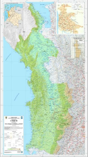 belen de bajirá Mapa
