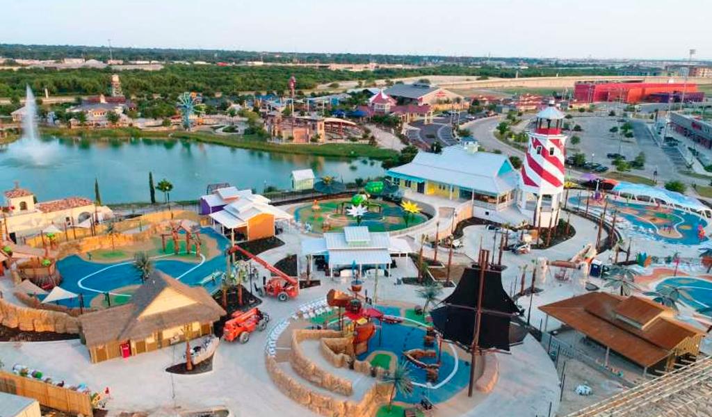 El primer parque de atracciones para niños con discapacidad