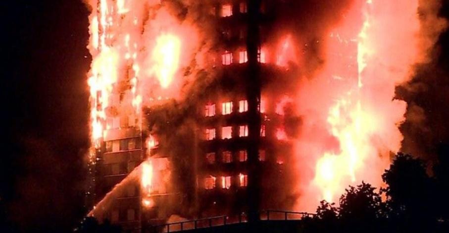Confirman causa de incendio en edificio de Londres