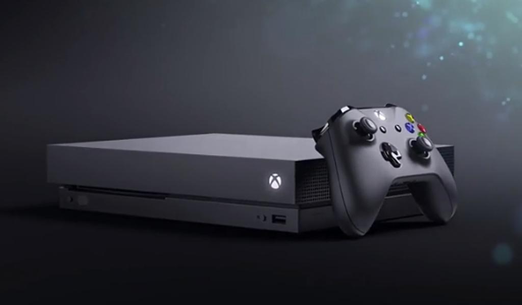 """Conozca el XBOX One X, """"la consola más poderosa del mundo"""""""