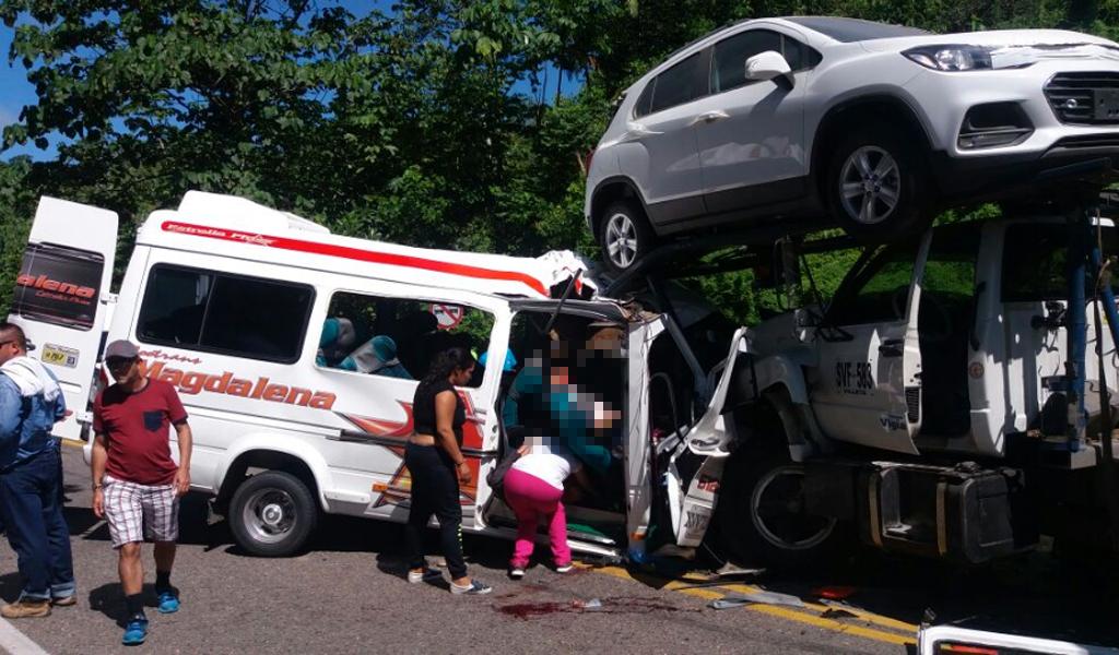 Accidente en vía panamericana deja 10 muertos