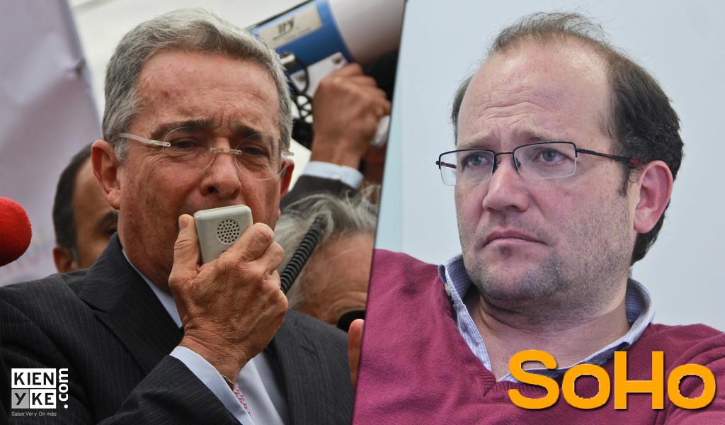 SoHo se pronuncia sobre controversia entre Álvaro Uribe y Daniel Samper