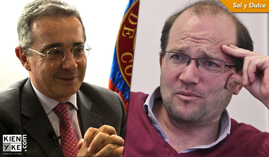 Uribe embiste a Samper Ospina y lo llama violador de niños