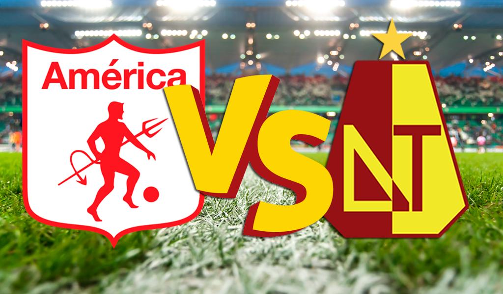 América de Cali goleó 3 – 0 al Deportes Tolima