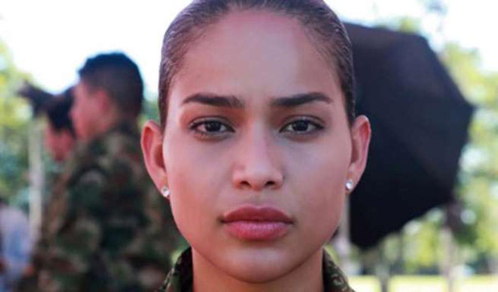 Andrea Tovar abortó misión en Soldados 1.0