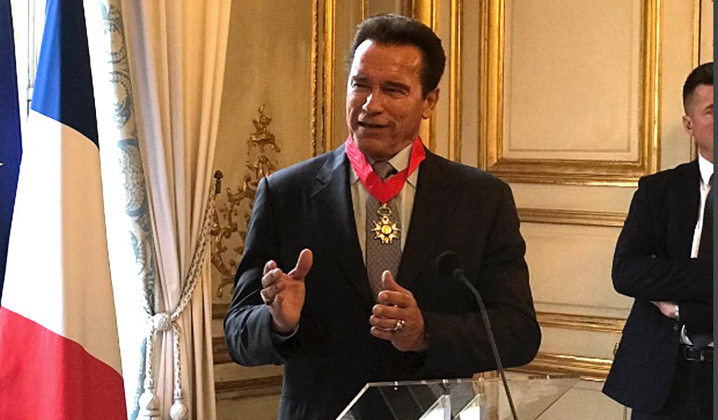 Foto: @Schwarzenegger. De celebridades a políticos
