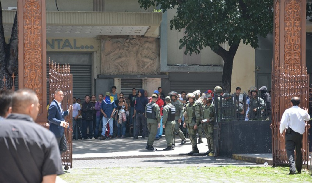 5 de julio de 2017: El día del asalto a la Asamblea Nacional