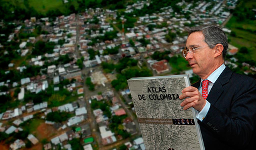 Álvaro Uribe atlas belén de bajirá