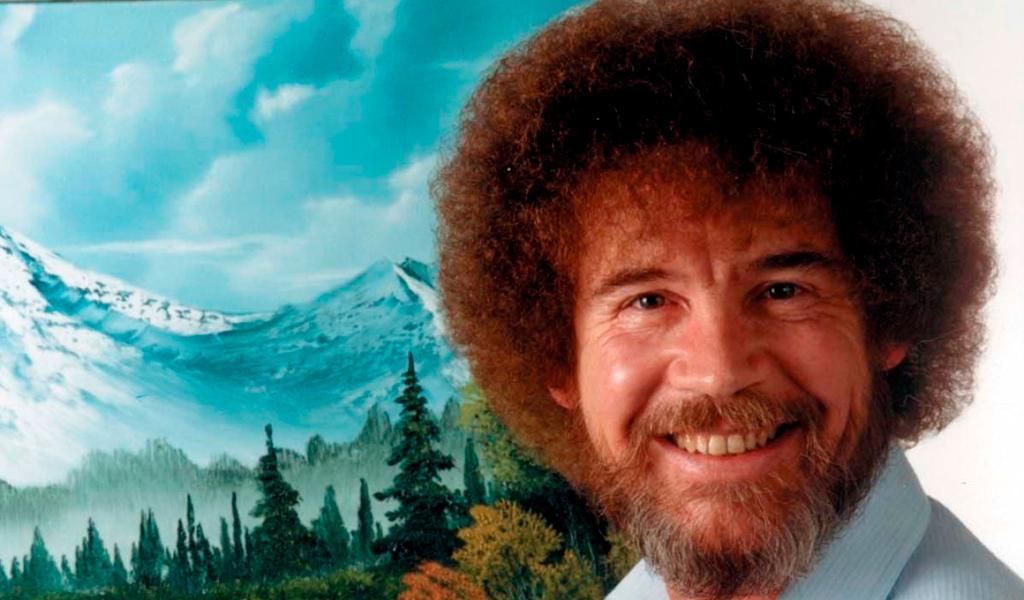 Bob Ross, el pintor de los 'trazos felices'