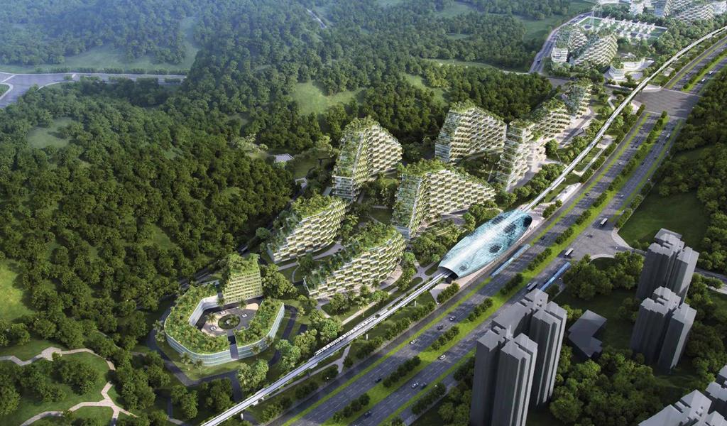 China prepara la primera 'ciudad verde' en el mundo