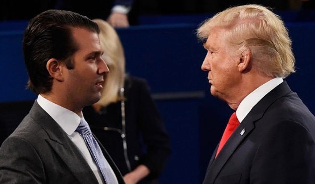 ¿Qué habló el hijo de Trump con la abogada rusa?