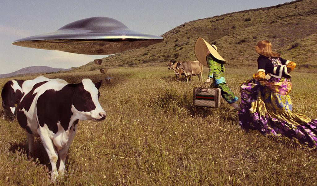 Películas de ciencia ficción inspiran la campaña de Gucci