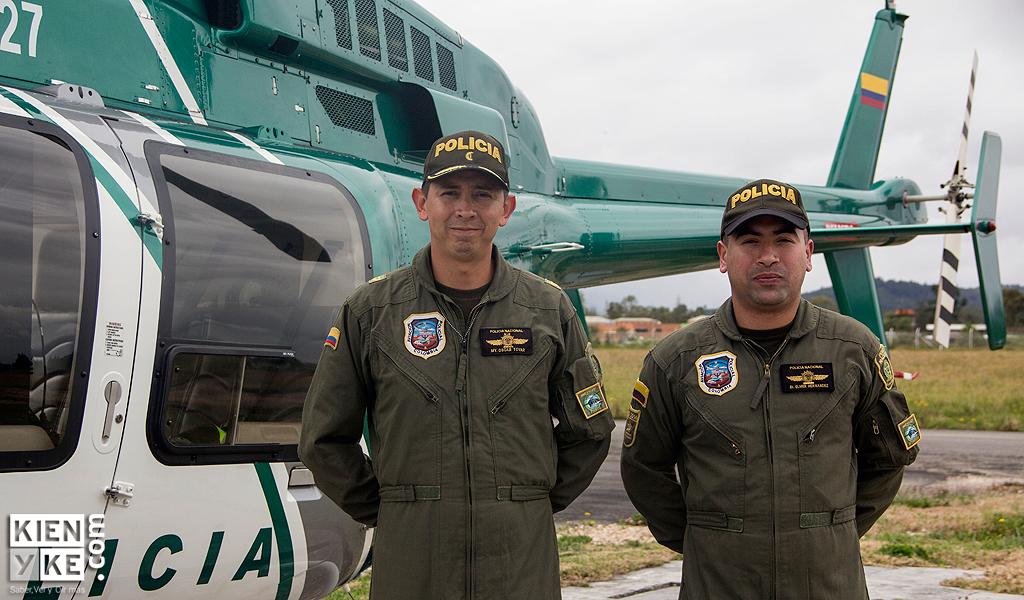 Halcón helicóptero policía bogotá