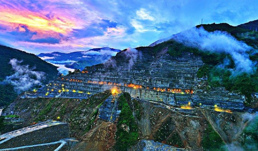 Avanzan cumplidamente las obras de la hidroeléctrica Ituango