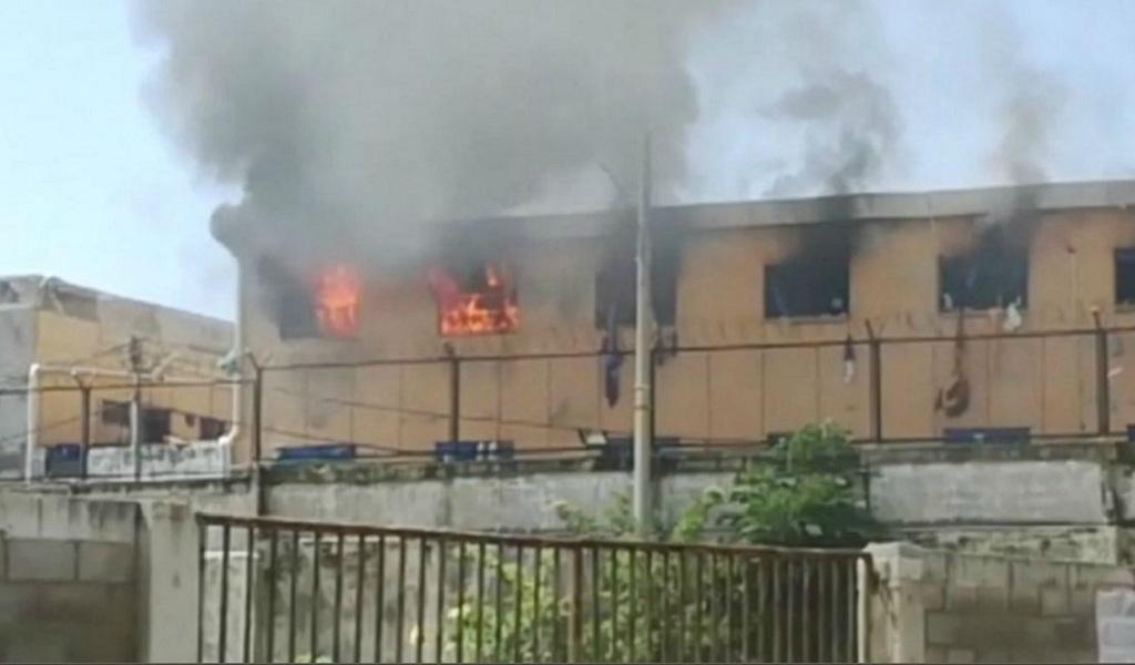 Controlan incendio en cárcel de Barranquilla
