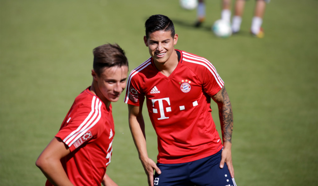 James Rodríguez-Bayerno-Munich
