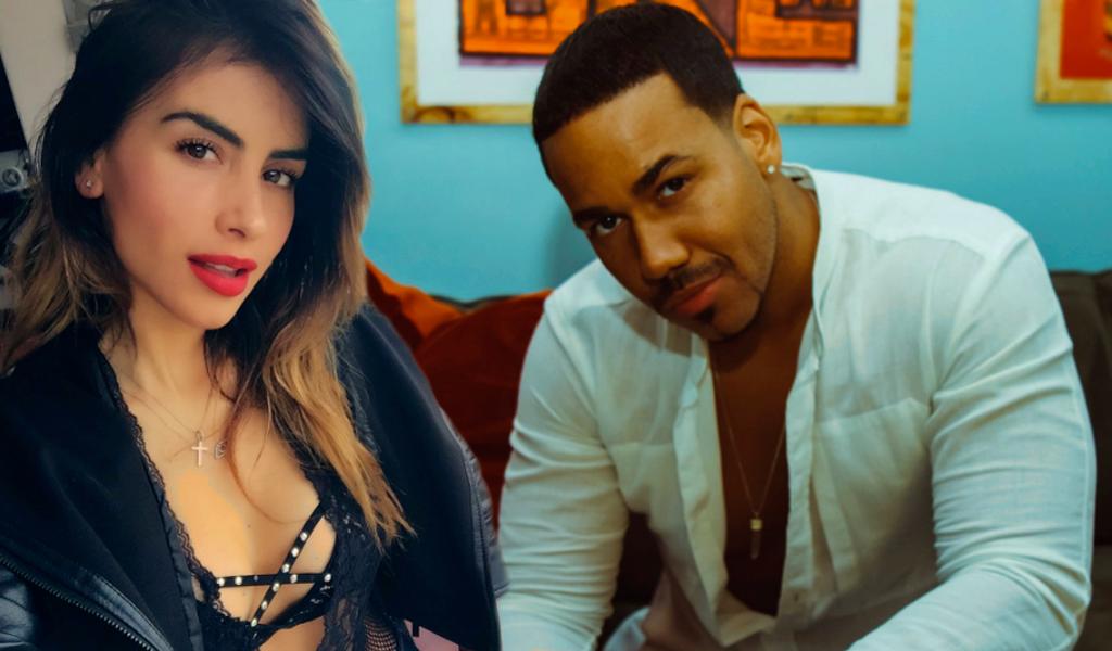 El sensual video de Romeo Santos y Jessica Cediel