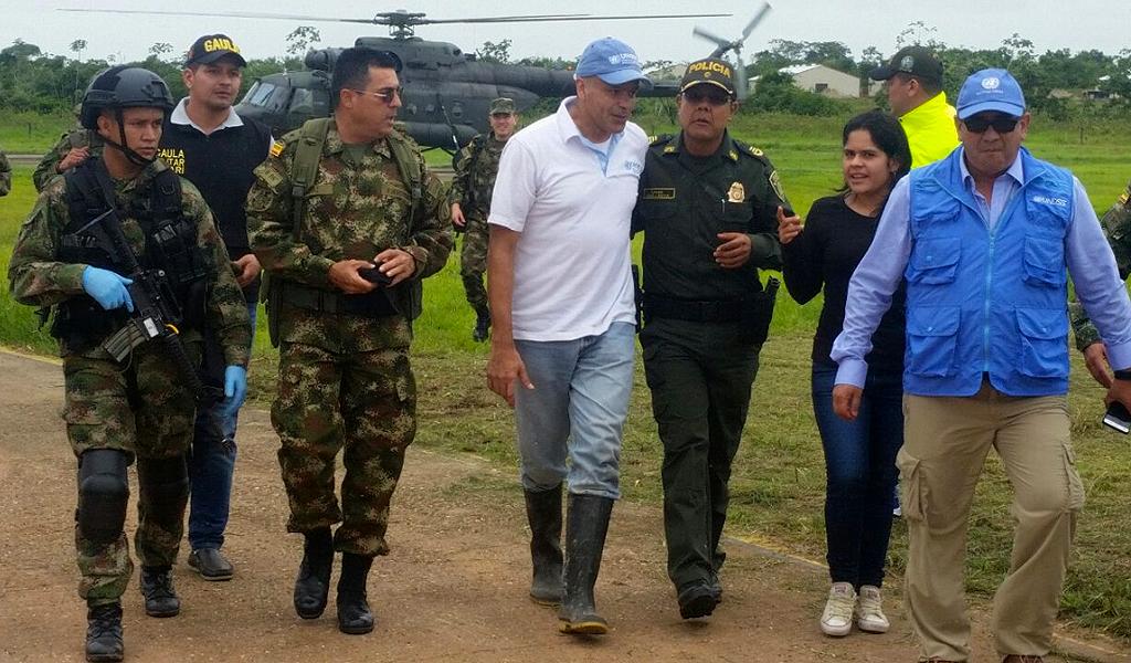 Así fue la bienvenida a la libertad de Herledy López