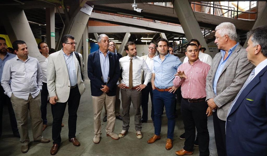 Medellín, ejemplo en el país para vivir el fútbol en paz