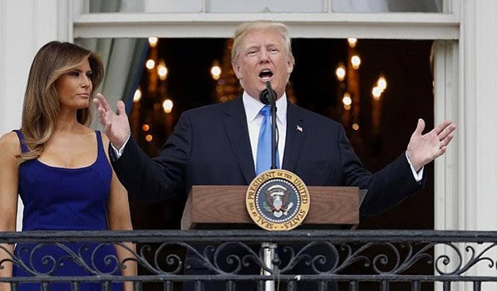 Esteban Cortázar, primer colombiano en vestir a Melania Trump