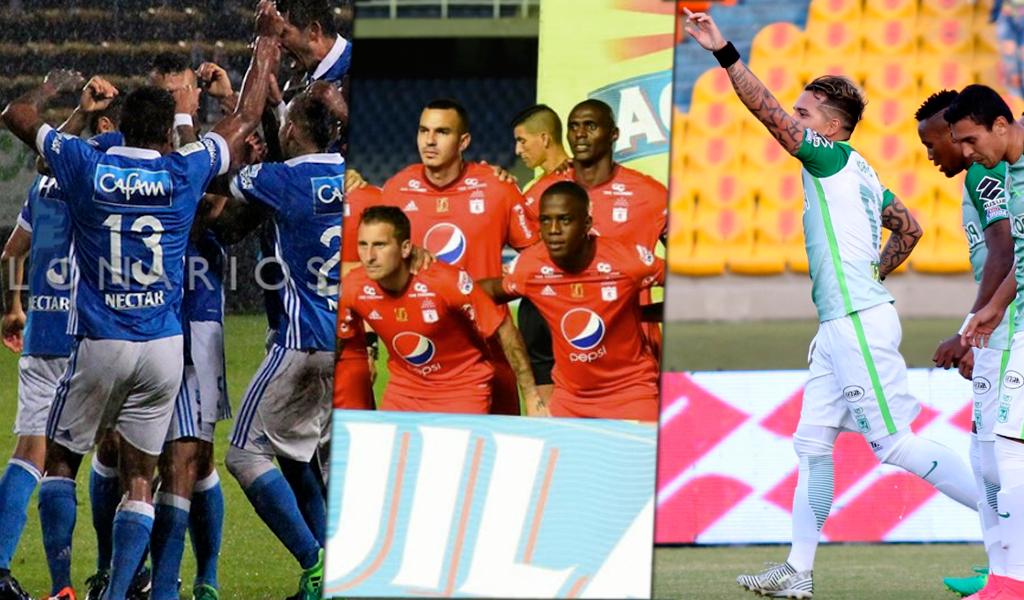 Liga Águila camisetas fútbol colombiano